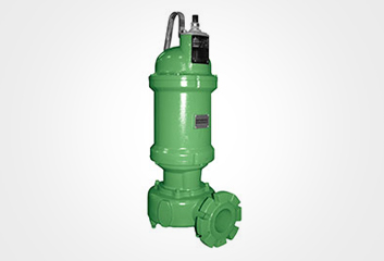 Solids handling pump